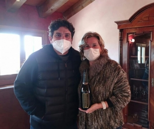 The three-stars Michelin Mauro Colagreco guest of our cellar